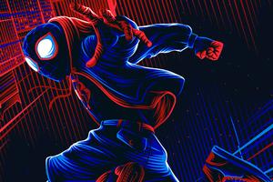 Spiderman Illustration 4k