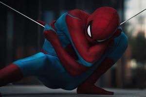 Spiderman In Action 5k Wallpaper