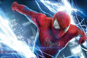 Spiderman In Action 8k Wallpaper