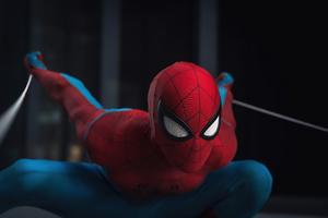 Spiderman In Action Wallpaper