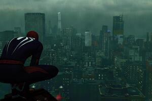 Spiderman In New York Wallpaper