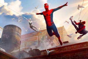 Spiderman In Ny Wallpaper
