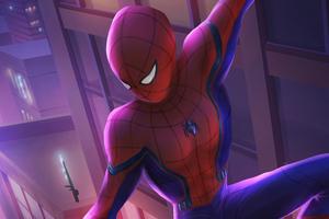 Spiderman In Queens Town