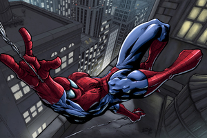 Spiderman In The City