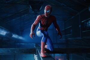 Spiderman In The Warehouse