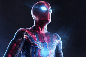 Spiderman Infinity War 4k Art