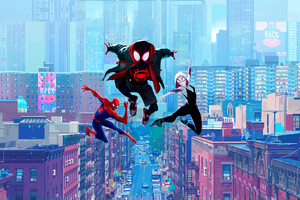 Spiderman Into Spider Verse 5k Wallpaper