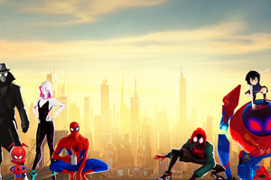Spiderman Into The Spider Verse 15k Wallpaper