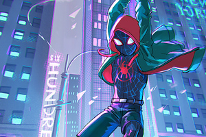 Spiderman Into The Spider Verse 4k 2019 Wallpaper
