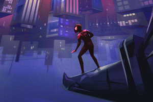 SpiderMan Into The Spider Verse Artworks