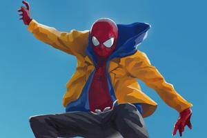 SpiderMan Into The Spider Verse Digital Artwork