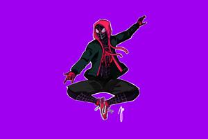 Spiderman Into The Spider Verse Movie 4k Artwork 2018 Wallpaper