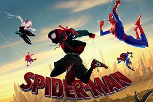 SpiderMan Into The Spider Verse Movie 4k Movie