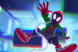 SpiderMan Into The Spider Verse Movie Artworks 2018