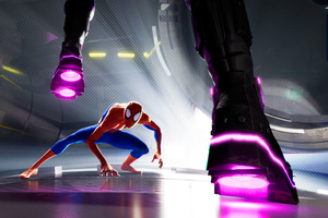 SpiderMan Into The Spider Verse Movie Entertainment Weekly