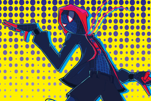 SpiderMan Into The Spider Verse New Art