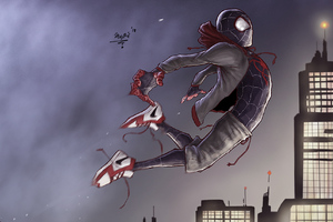 SpiderMan Into The Spider Verse New Arts
