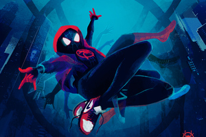 SpiderMan Into The Spider Verse New Artwork