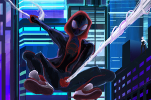 SpiderMan Into The Spider Verse New Artworks