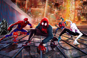 SpiderMan Into The Spider Verse New China Poster