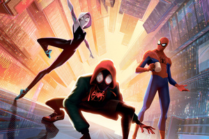 SpiderMan Into The Spider Verse New New 5k Wallpaper