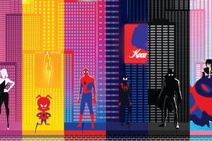 SpiderMan Into The Spider Verse New Poster 2019