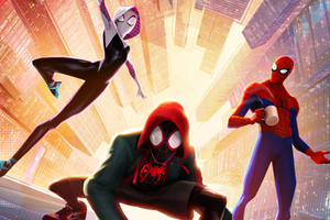 SpiderMan Into The Spider Verse New Poster