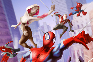 Spiderman Into The Spiderverse 2 2022 Movie