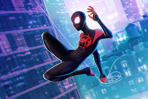 Spiderman Jump 4k Art Wallpaper