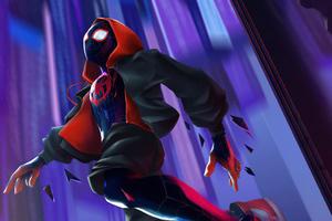 Spiderman Jump 4k Wallpaper