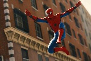 Spiderman Jumping 4k