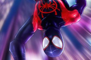 Spiderman Jumping Down