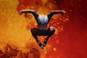Spiderman Jumping HD