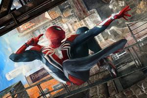 Spiderman Jumping