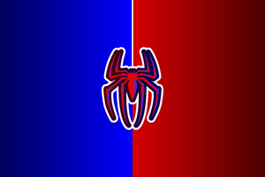 Spiderman Logo 12k Wallpaper