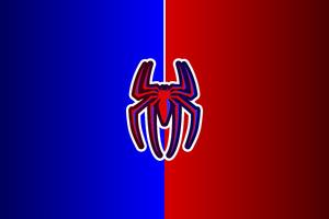 Spiderman Logo 12k Wallpaper