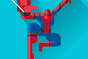 Spiderman LowPoly
