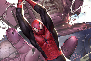 Spiderman Marvel Zombies Wallpaper