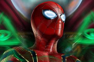 Spiderman Mask Eye Art