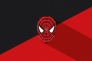 Spiderman Mask Minimal