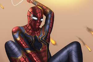 Spiderman Miles 2020 Art