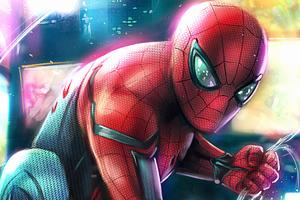 Spiderman Miles 4k Wallpaper