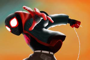 Spiderman Miles 4kart Wallpaper