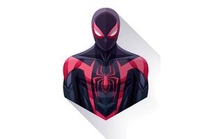 Spiderman Miles Minimalism