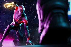 Spiderman Miles Morales 2021 Wallpaper