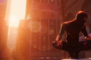 Spiderman Miles Morales 2021 Ps5 4k Wallpaper
