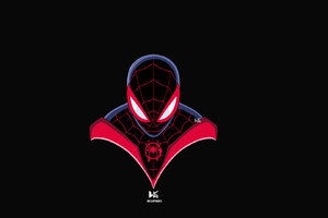 Spiderman Miles Morales Art