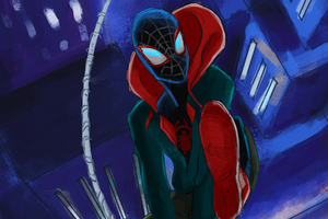 Spiderman Miles Morales Art 4k New