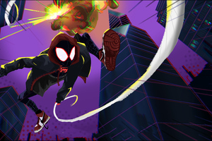 Spiderman Miles Morales Art 5k