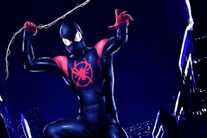 Spiderman Miles Morales Arts
